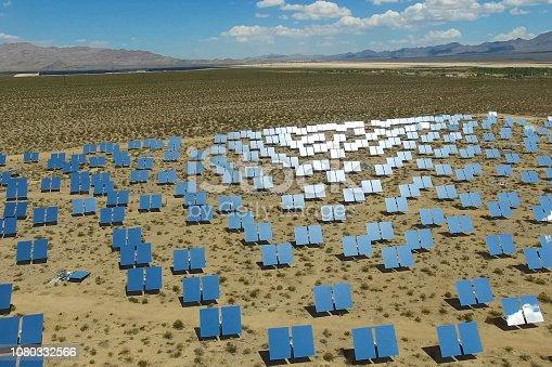 istock Solar panels. Solar energy An alternative source of energy is so 1080332566