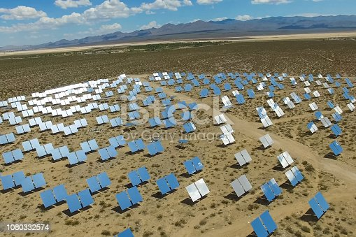 istock Solar panels. Solar energy An alternative source of energy is so 1080332574