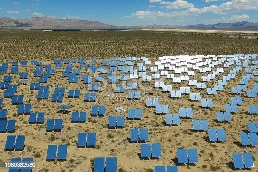 istock Solar panels. Solar energy An alternative source of energy is so 1080332580