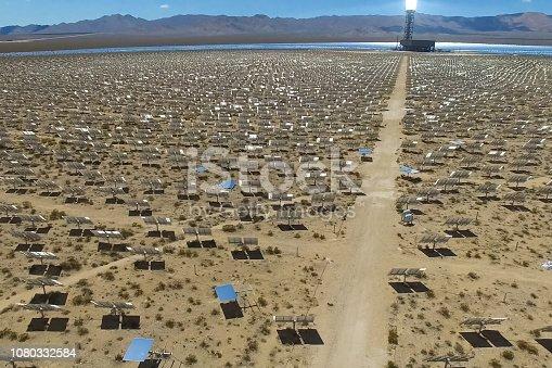 istock Solar panels. Solar energy An alternative source of energy is so 1080332584
