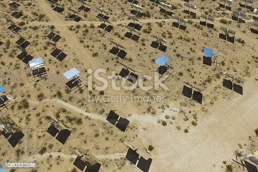 istock Solar panels. Solar energy An alternative source of energy is so 1080332598