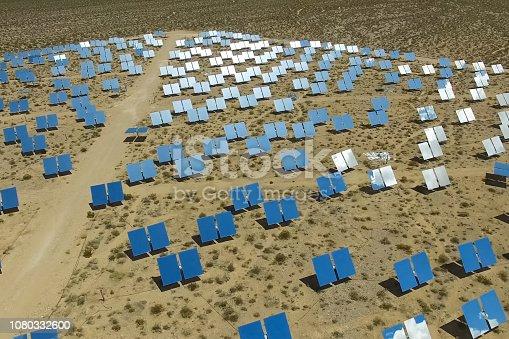 istock Solar panels. Solar energy An alternative source of energy is so 1080332600