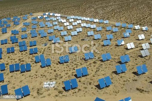 istock Solar panels. Solar energy An alternative source of energy is so 1080332616