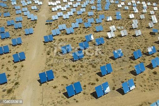 istock Solar panels. Solar energy An alternative source of energy is so 1080332618