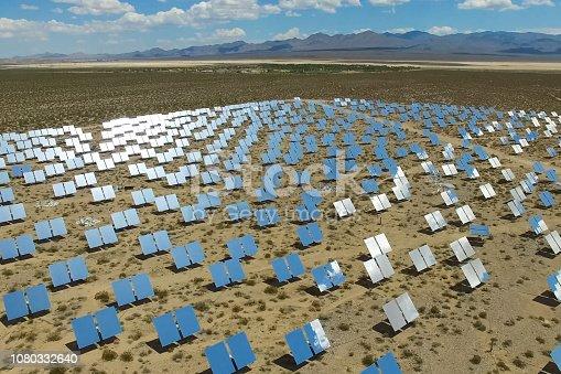 istock Solar panels. Solar energy An alternative source of energy is so 1080332640