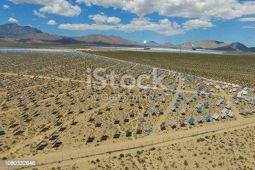 istock Solar panels. Solar energy An alternative source of energy is so 1080332646