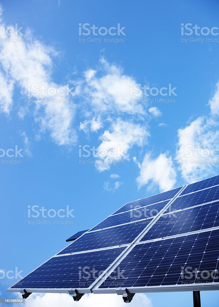 Solar Photovoltaic royalty-free stock photo