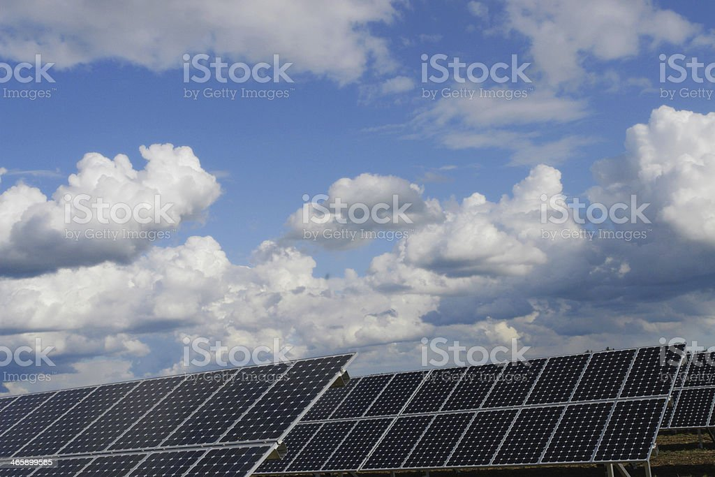 solar plant royalty-free stock photo