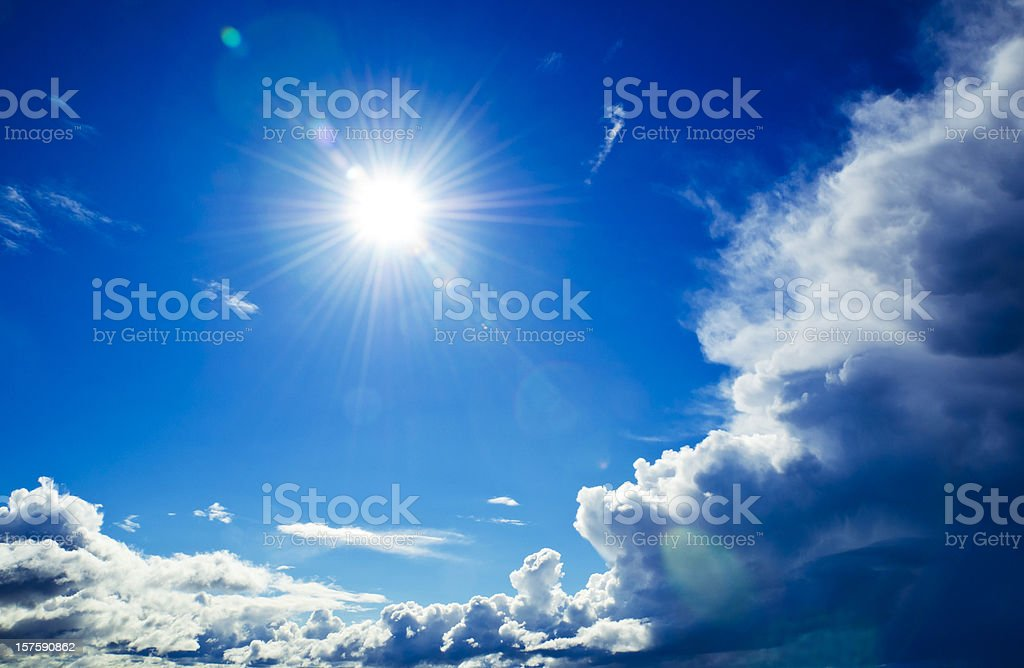 Solar Power - Nature's Energy royalty-free stock photo