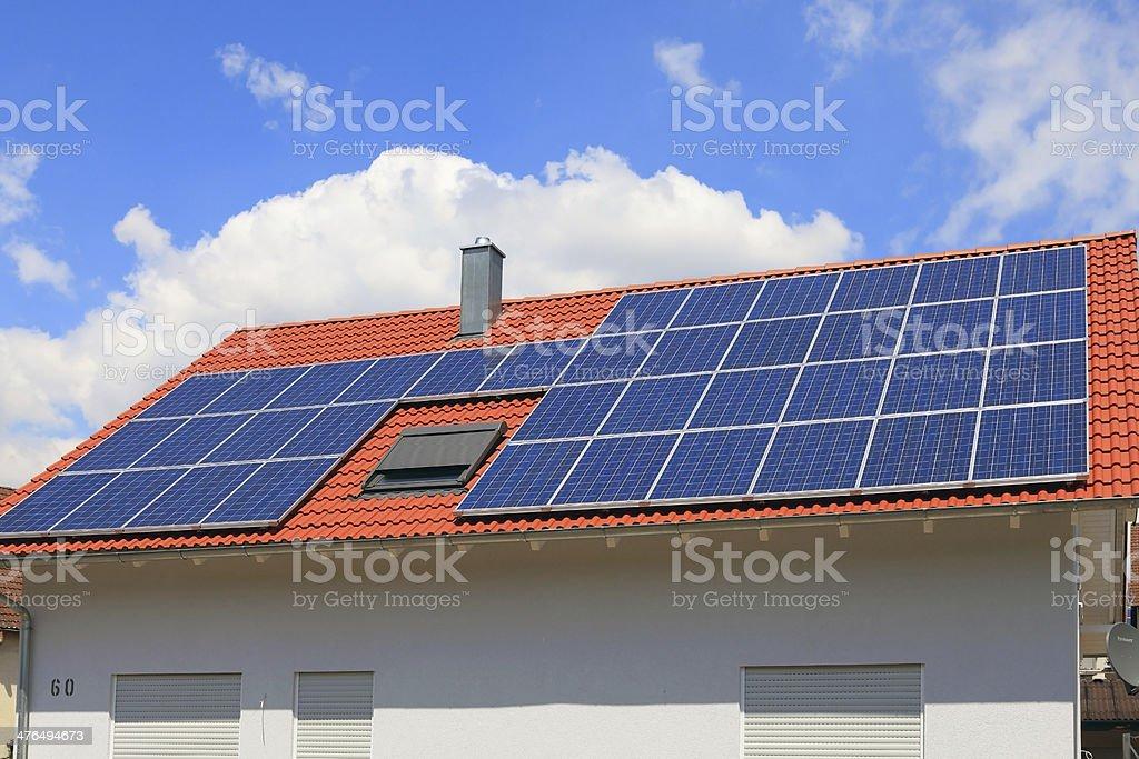 Solar Power photovoltaic energy panels royalty-free stock photo