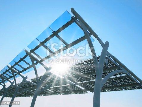 istock Solar power plant 154212514