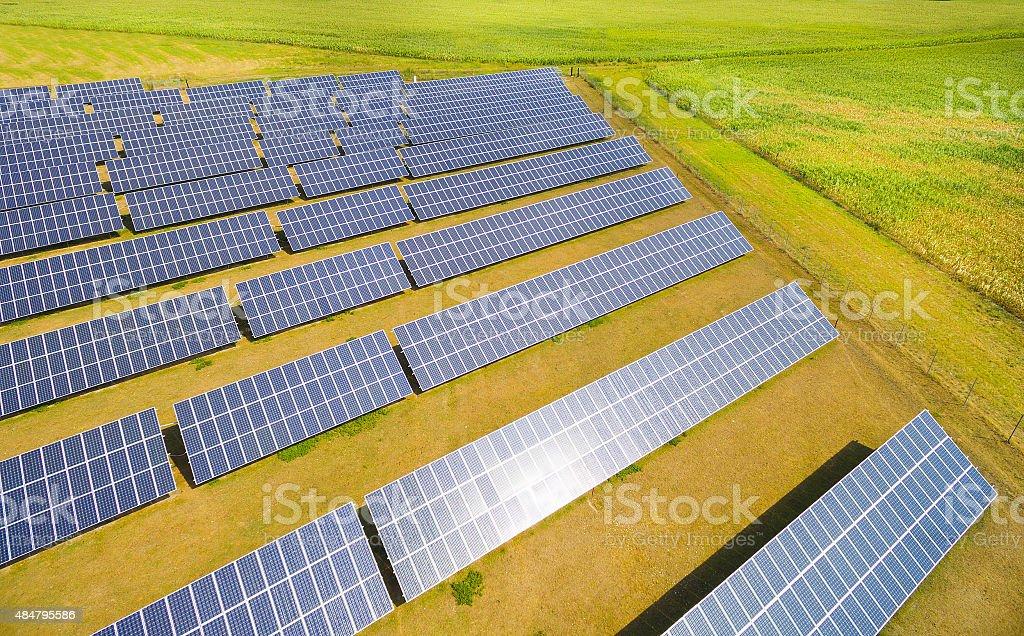 Solar power plant. - Lizenzfrei 2015 Stock-Foto