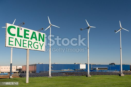 480763537 istock photo Solar power station and wind turbines supplies shopping mall 1198828743