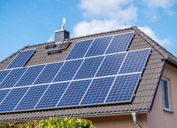 Solardach im eigenen Haus – Foto