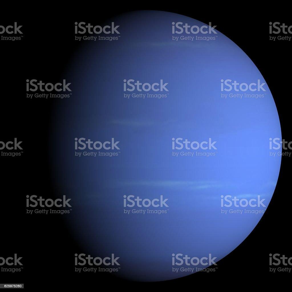 solar system Neptune stock photo
