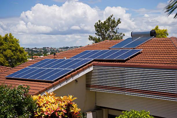 Solar-System auf Stadt House in Sydney – Foto