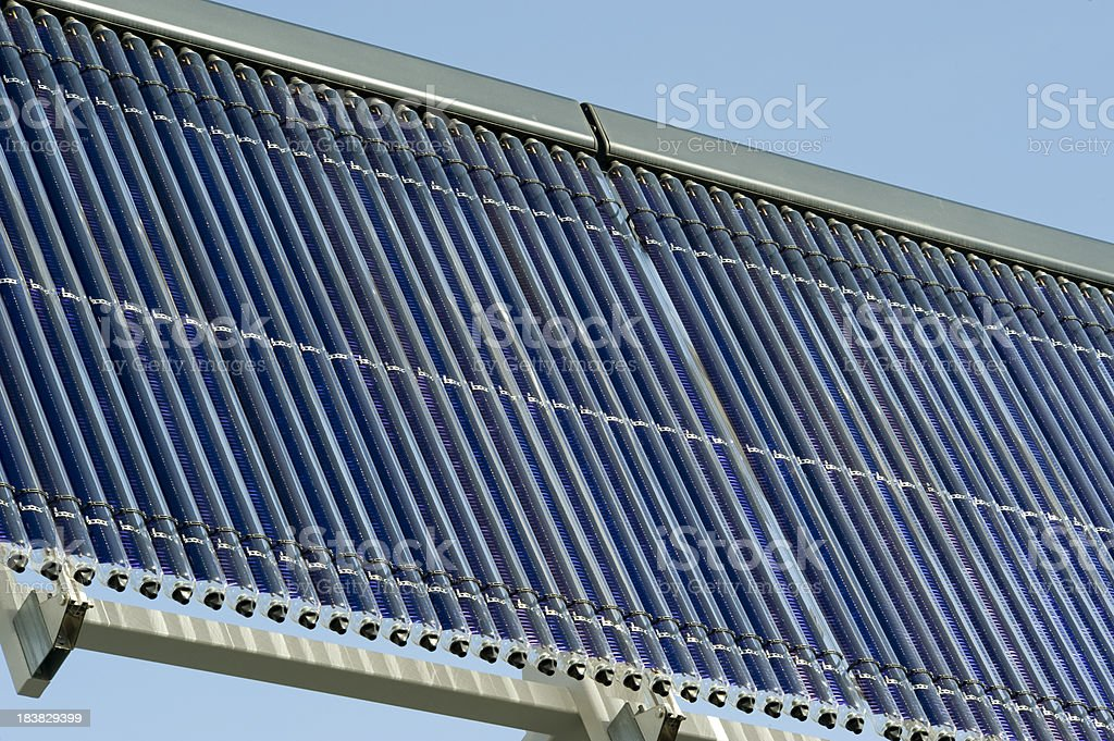 Solar Thermal Panels royalty-free stock photo