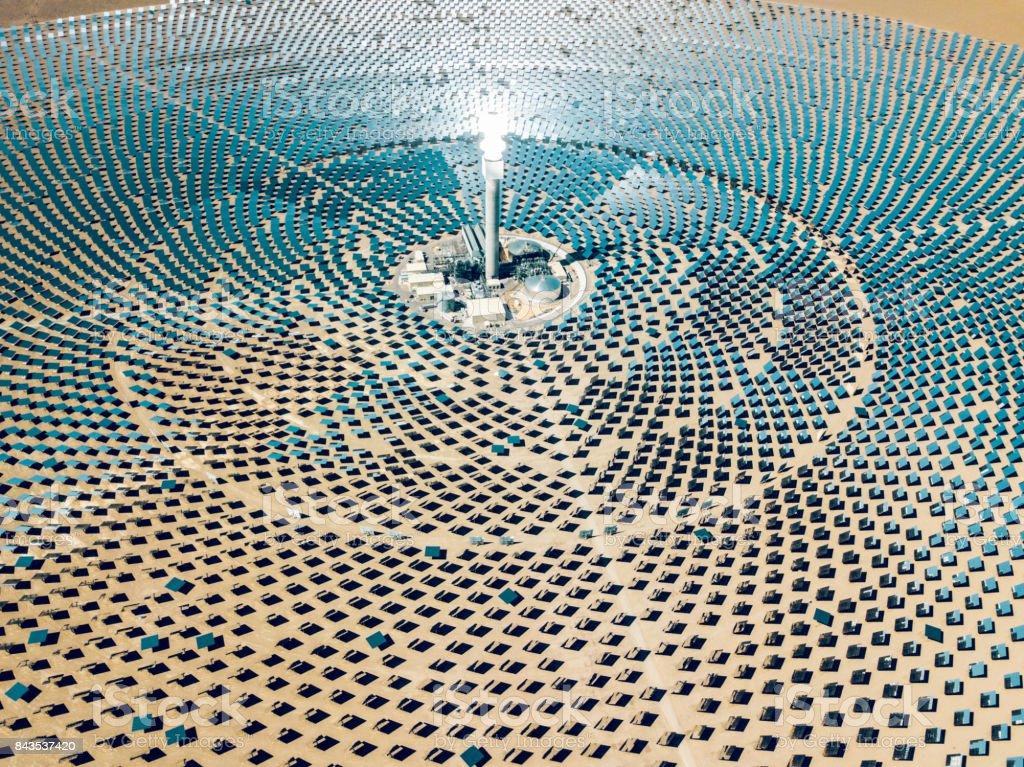Solarthermischen Kraftwerks Farm – Foto
