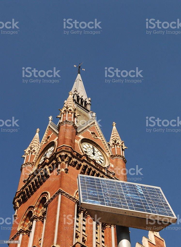 Solar Time royalty-free stock photo