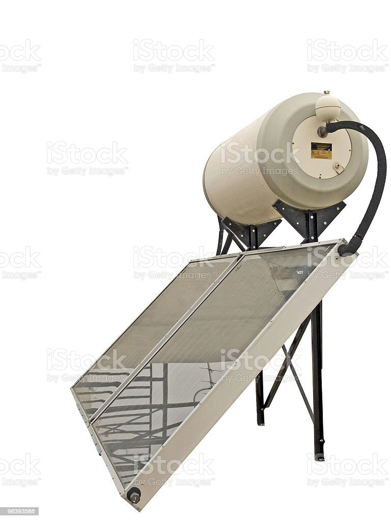 Solar Water Heater royalty-free stock photo
