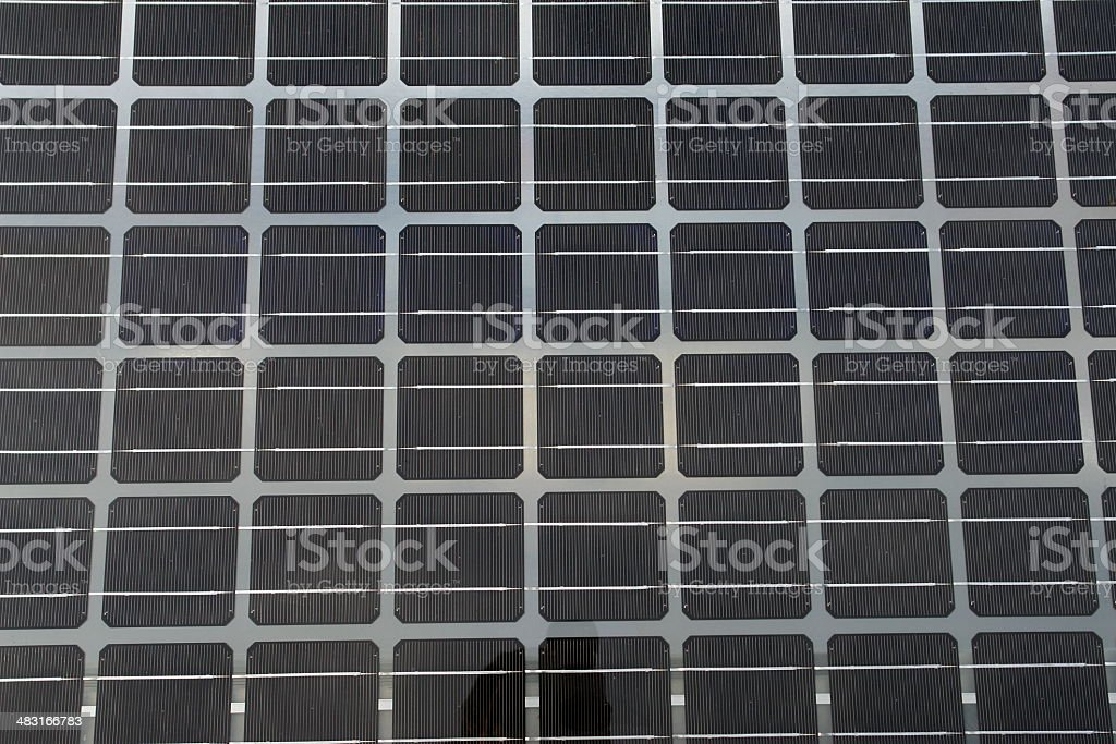 Solarcell royalty-free stock photo