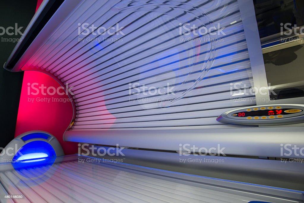 Solarium closeup stock photo