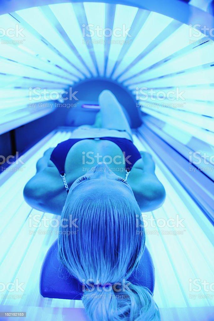 solarium-Behandlung – Foto