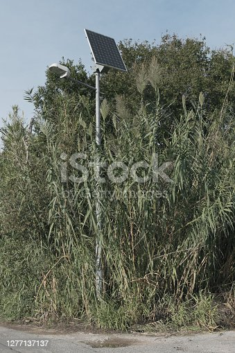 istock solar-powered streetlamp in the countryside 1277137137