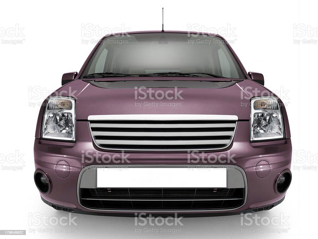 İsolated car royalty-free stock photo
