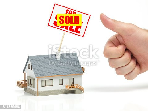 istock Sold house 611865686