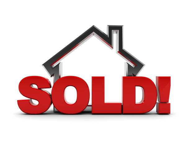 sold house - selling stock pictures, royalty-free photos & images