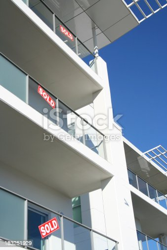 Sold signs on brand new apartments / office space.See similar: