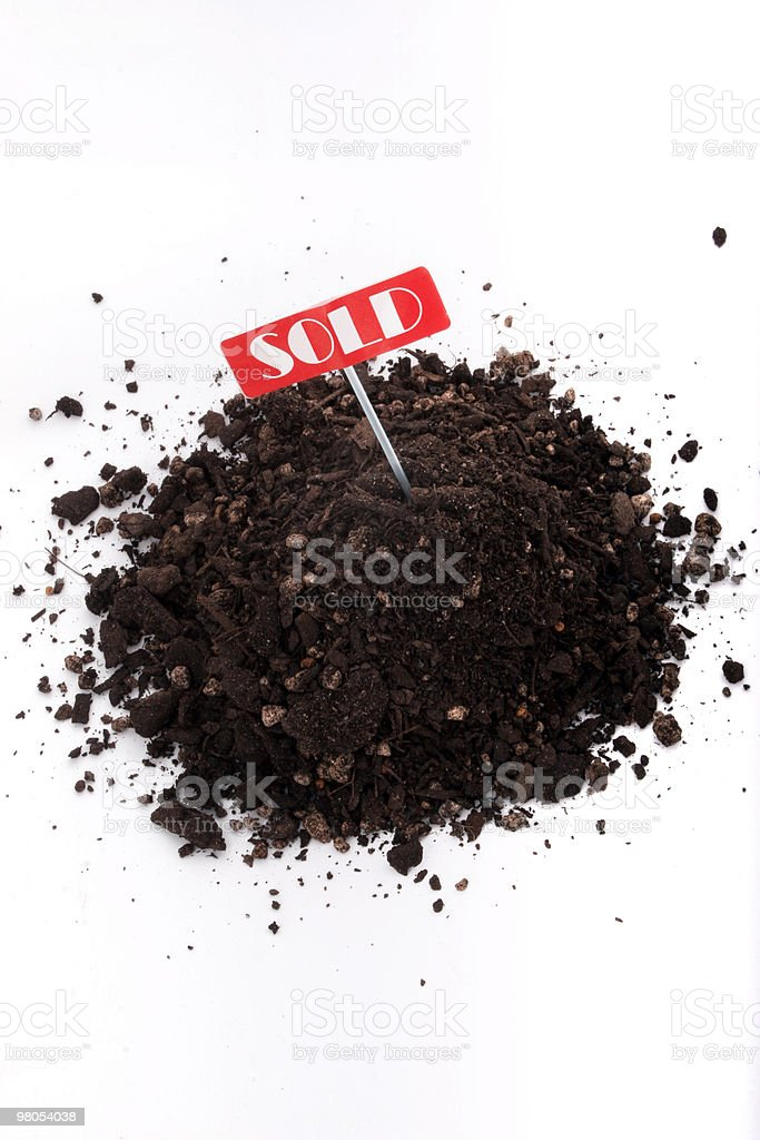 Sold soil royalty-free stock photo