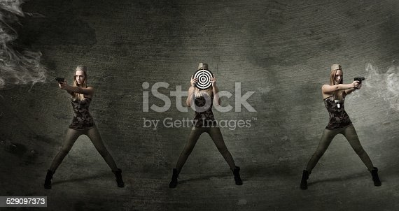 istock soldier at shooting range 529097373