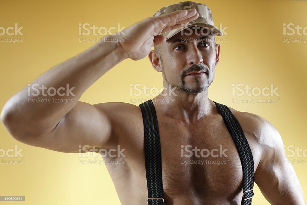 Soldier of Fortune royalty-free stock photo