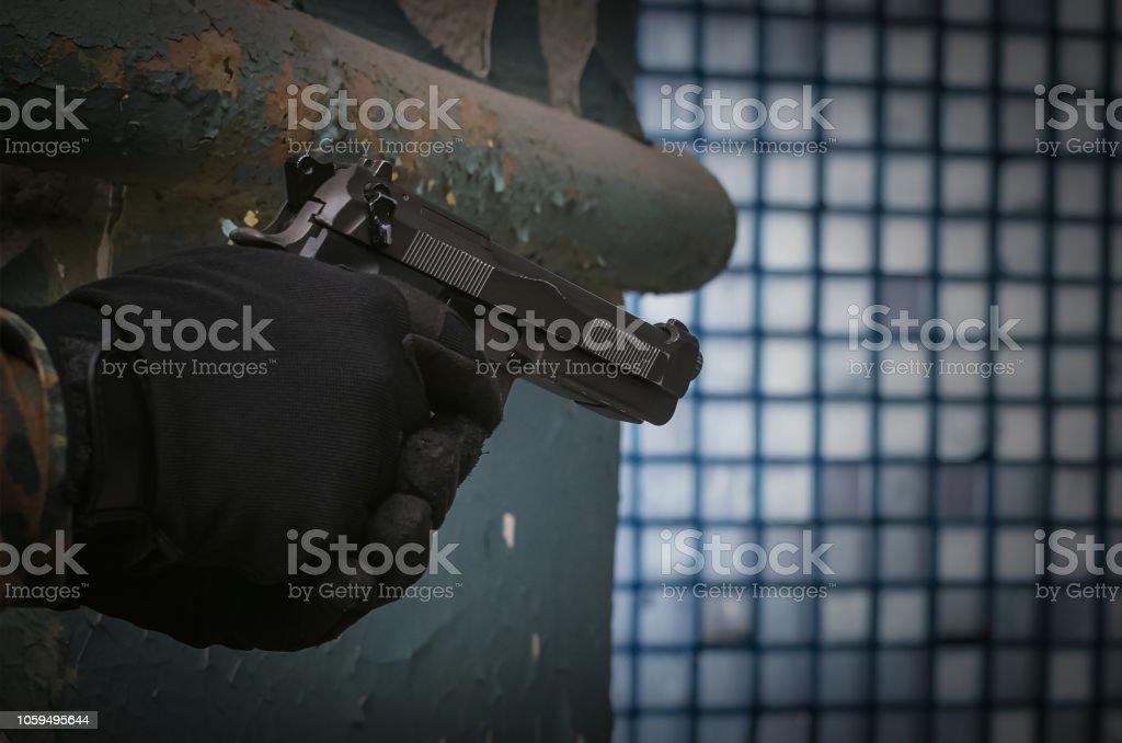 Soldier. stock photo