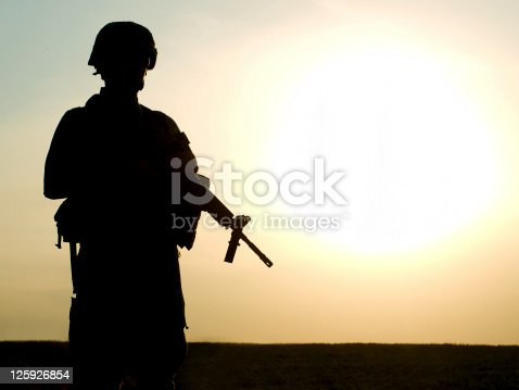 istock US soldier 125926854