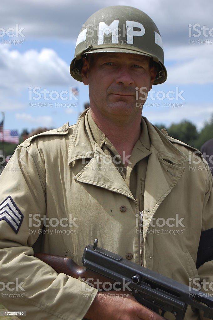 M.P. Soldier, stock photo