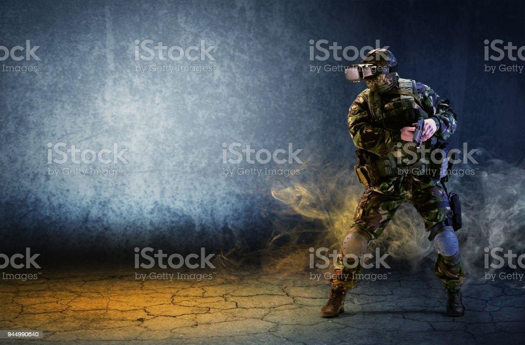 Libre Réalité Des Soldat Un Photo Lunettes Avec De Droit pUVSzM