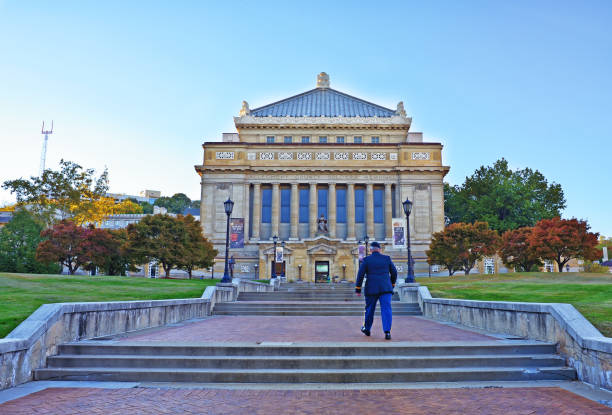 Cтоковое фото Soldiers and Sailors Memorial