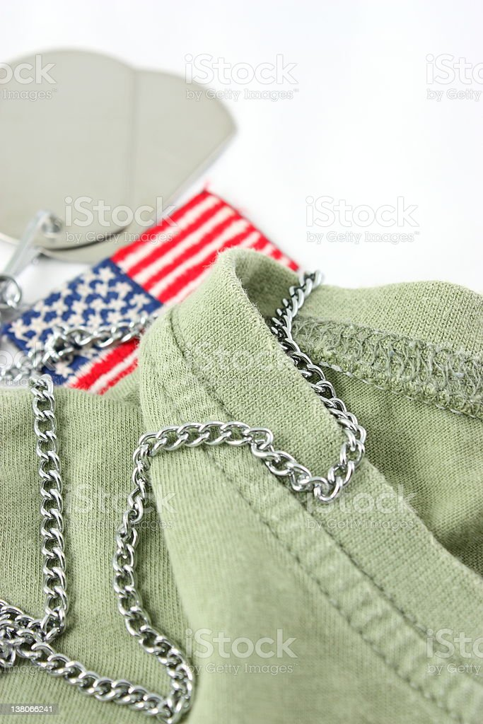 Soldier's life royalty-free stock photo