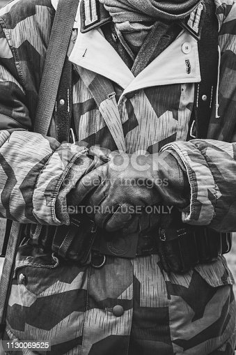 1061204700 istock photo Soldiers of the Second World War Wehrmacht in uniform 1130069525