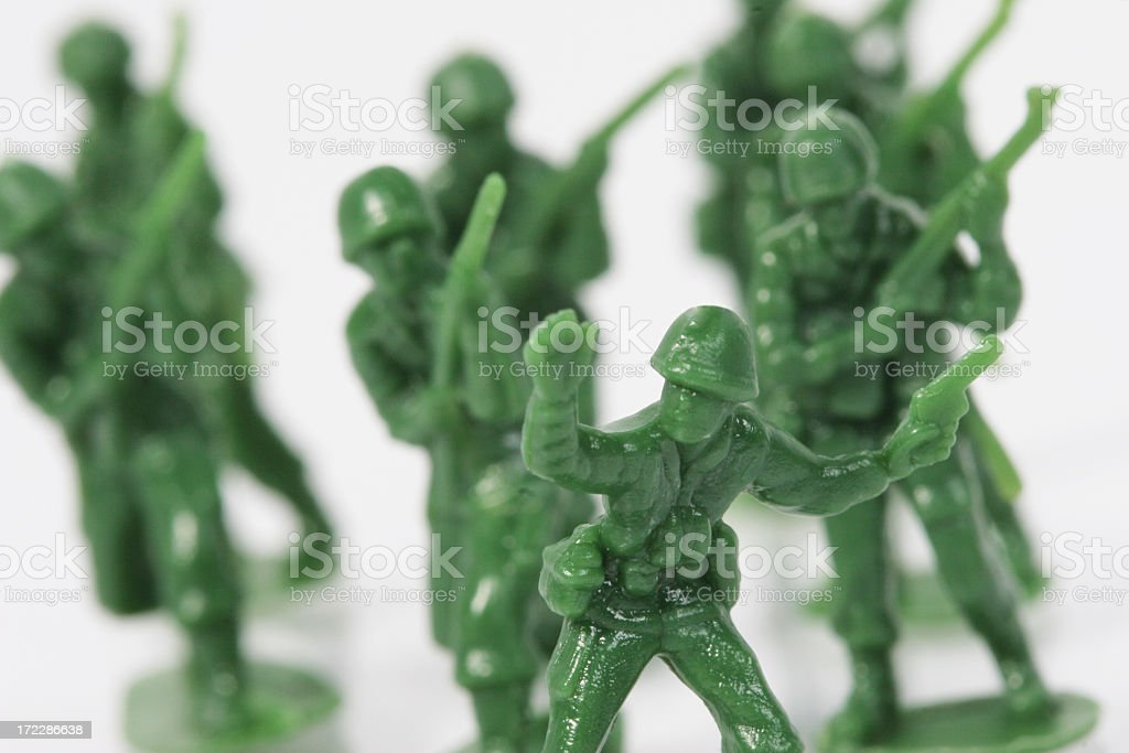 Soldiers royalty-free stock photo