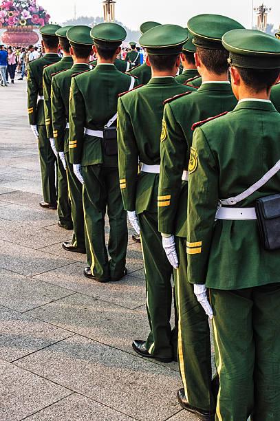 soldiers - chinese military bildbanksfoton och bilder