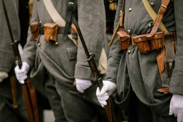 Soldats de la WWI - Photo