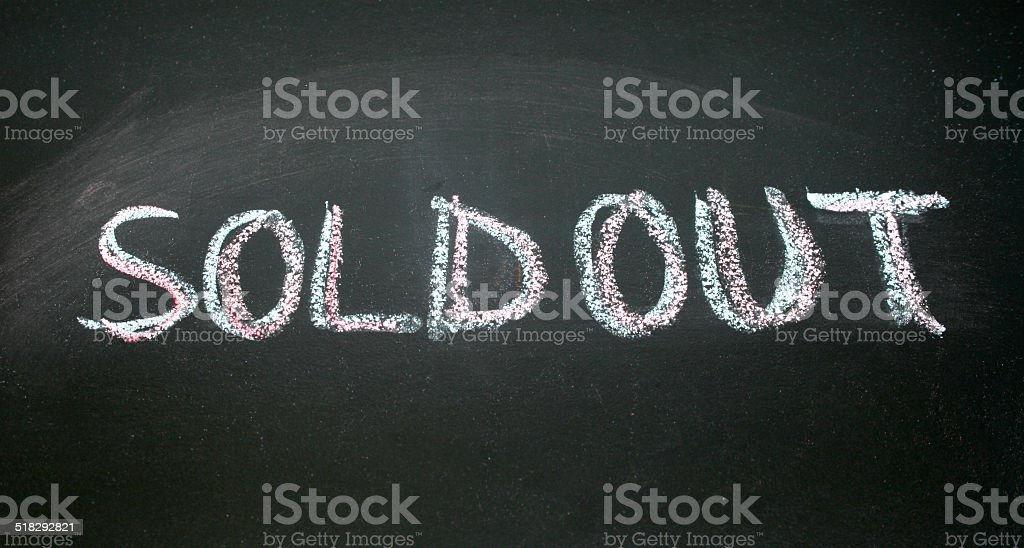 Image result for sold out sign
