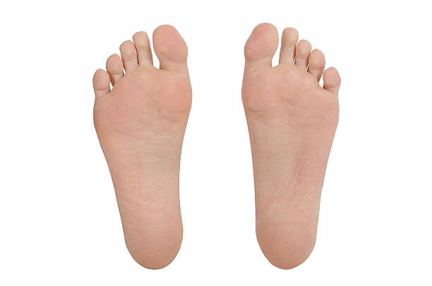 sole of foot pair barefoot sole of foot pair sole of foot stock pictures, royalty-free photos & images