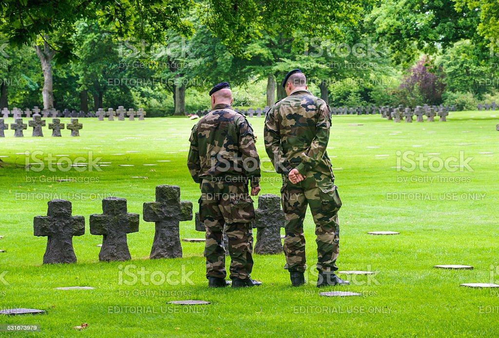 Solemn Remembrance stock photo