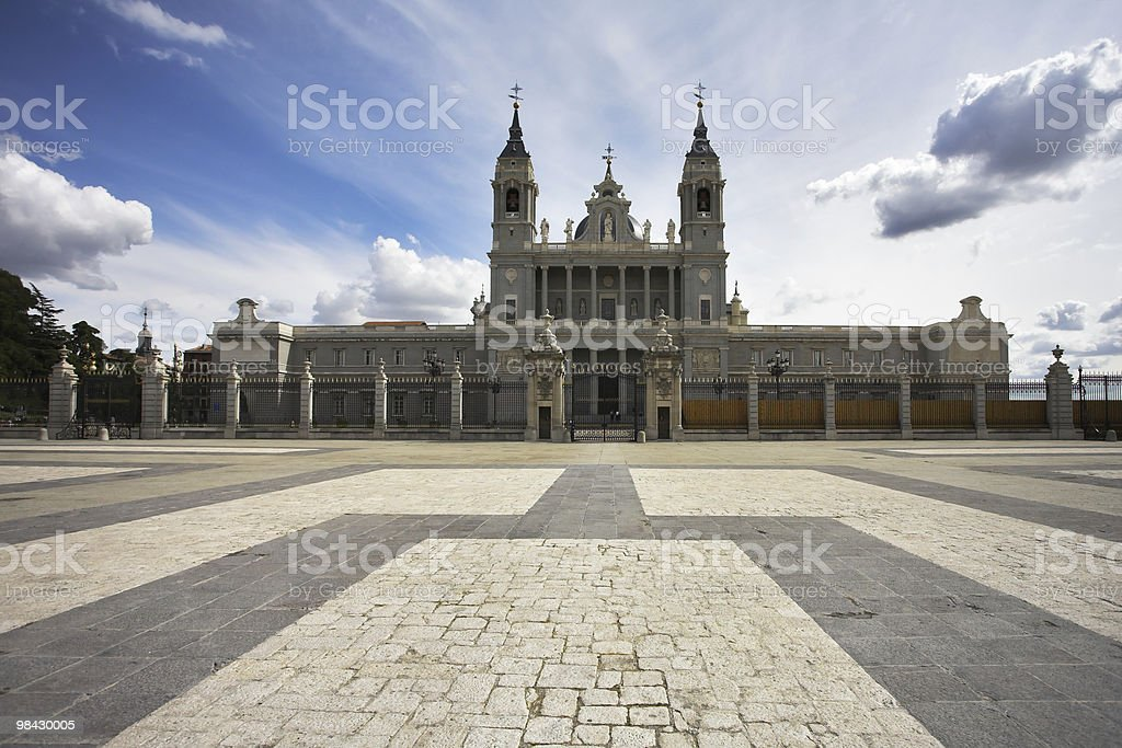 Solemn royal palace royalty-free stock photo