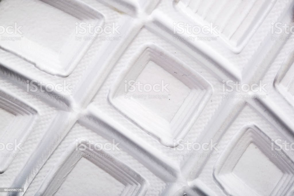 Soles of sports shoes stock photo